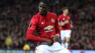 Kiungo wa kati wa Man United na Ufaransa Paul Pogba