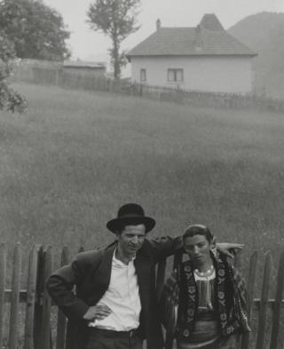Couple Rucar, Romania, 1967