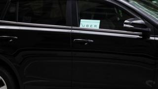 سيارة تعمل مع أوبر