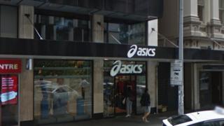 Asics store in Auckland