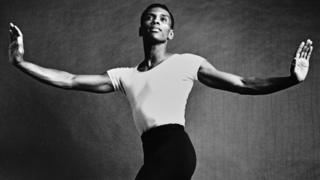 New York City Ballet dancer Arthur Mitchell, pictured in 1963