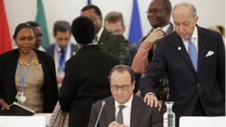 Laurent Fabius, COP21 president, 1 December 2015