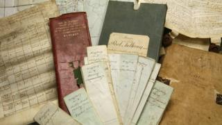 Documents from the Wyndham family archive