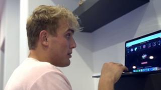 Youtuber Jake Paul
