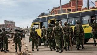 polisi wa Kenya