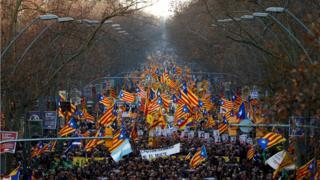 Catalan separatists