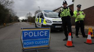 полиция в британии