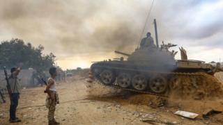 الصراع في ليبيا