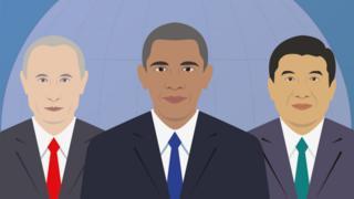 Putin, Obama, Xi