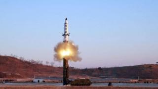 朝鲜再次试射洲际弹道导弹