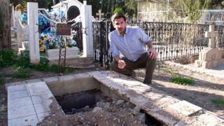 Juan Paullier en una salida de un túnel en Nogales