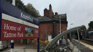 Knutsford Railway Station