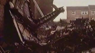 Canberra crash 1977