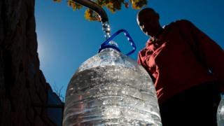 Agua en Ciudad del Cabo