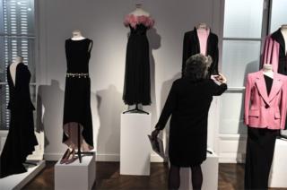 выставка одежды Катрин Денев