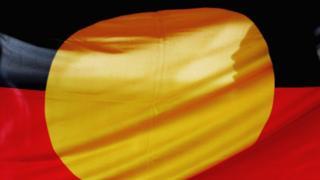 An Australan Aboriginal Flag