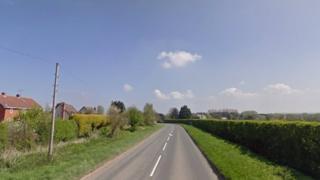 A44 Monkland crash