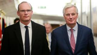 Simon Coveney Michel Barnier