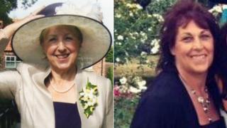 Barbara Twigg and Diana Hunt