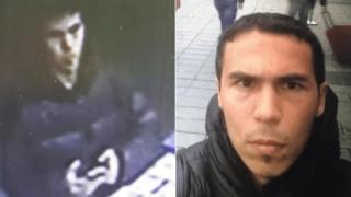 Türkiyə mediası bu fotonu silahlının fotosu kimi paylaşıb, amma polis bu barədə əlavə məlumat verməyib