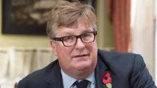 Crispin Odey at his office in London in 2016