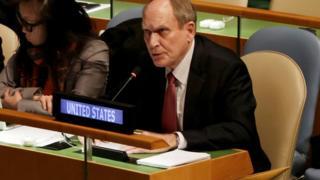 US envoy Ronald Godard