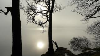 Sallochy Bay on Loch Lomond