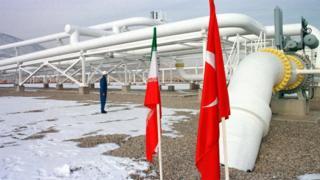 افتتاح خط لوله انتقال گاز ایران به ترکیه در سال ۱۳۸۱