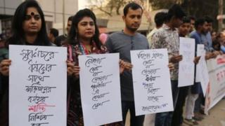 انتشار اخبار تجاوز گروهی، بسیاری را در بنگلادش به خیابانها کشاند