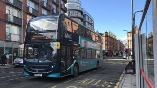 Arriva bus in Leeds