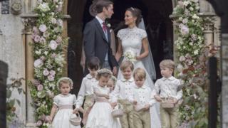 凯特王妃妹妹琵芭上周六结婚