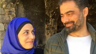 Marwa al-Sabouni y Ghassan Jansiz