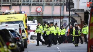 بمبگذاری در متروی لندن