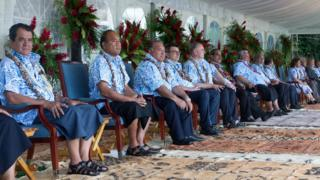 Lideri pacifičkih ostrva