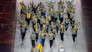 Церемонія відкриття Зимових Олімпійських ігор 2014 року в Сочі у лютому 2014 року