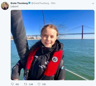greta on board