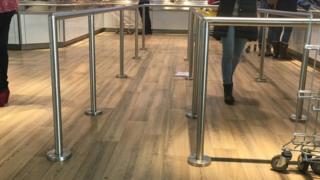 Ikea barriers