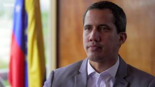 Venezuela'da muhalif lider Juan Guaido