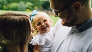 Lauren Murchison and daughter Evie