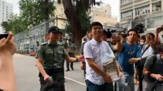 Joshua Wong released from jail