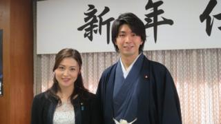 自民党の宮崎謙介衆院議員と妻の金子恵美衆院議員