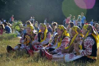 На святкування Івана Купала у Пирогово зібралось понад тисячу люедй