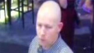 A man police want to question about the assault