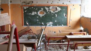 School near Damascus