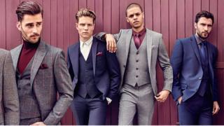Moss Bros models