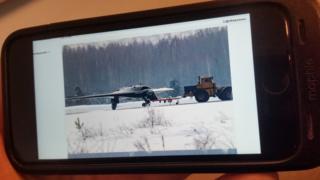 Фотоснимок публикации на военном форуме