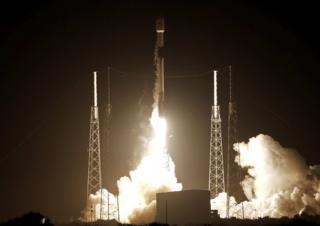 SpaceX launch of Beresheet lander