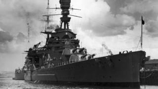 HMS Repulse pictured in 1939