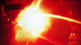 Wendelstein 7-X plasma, 10 Dec 15