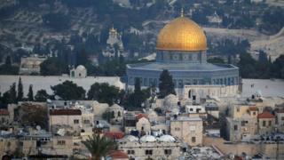 耶路撒冷城市景观